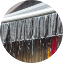 Weather check awnings