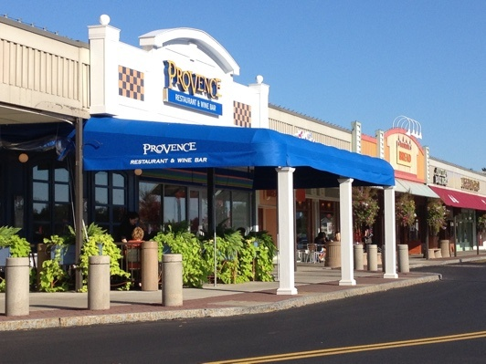 Awnings for restaurants